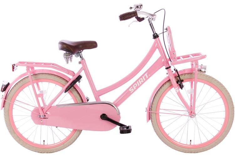 Spirit Cargo Roze Meisjesfiets 22 inch