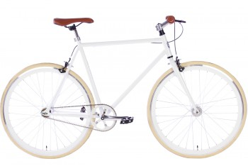 Spirit Fixed Gear Bike Wit 2018