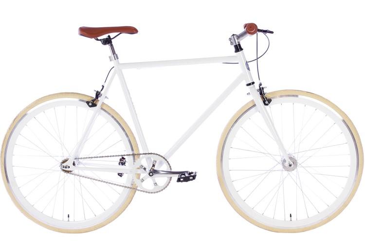 Spirit Fixed Gear Bike Wit 2018