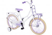 Spirit Omafiets Wit-Paars 18 inch