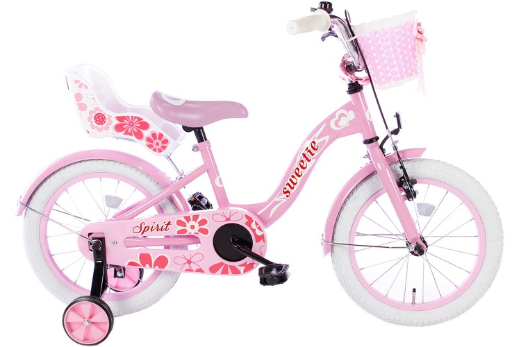 Spirit Sweetie Meisjesfiets Roze 16 inch
