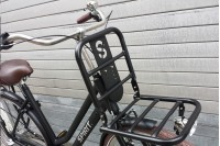 Spirit Urban Mat-Zwart Transportfiets 2018
