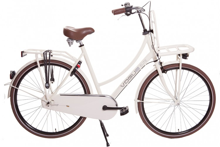 Vogue Elite Dames Transportfiets N3 Creme 2018