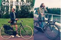 Vogue Elite Heren Transportfiets N3 Mat-zwart 2018
